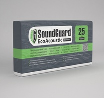 ЭкоВата SoundGuard EcoAcoustic 25 mm ЭкоВата SoundGuard EcoAcoustic 25 mm